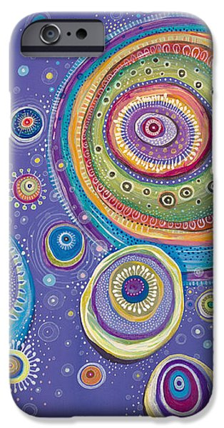 Cosmos Paintings iPhone Cases - Magnetic iPhone Case by Tanielle Childers