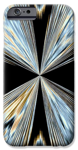 Will Power iPhone Cases - Magnetism 2 iPhone Case by Will Borden