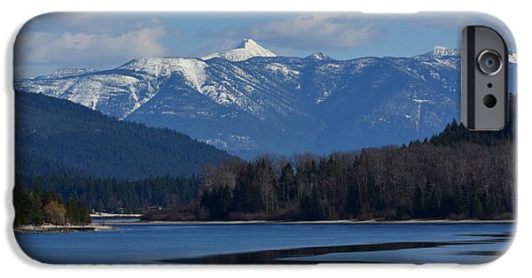 Snowy iPhone Cases - Magnificent Mountain iPhone Case by Joy McAdams