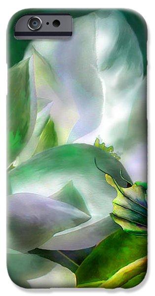 Magnolia iPhone Case by Carol Cavalaris