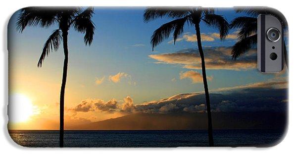 Connection Digital Art iPhone Cases - Mai ka aina Mai ke kai Kaanapali Maui Hawaii iPhone Case by Sharon Mau