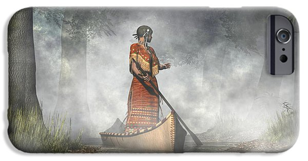 Mist iPhone Cases - Maid of the Mists iPhone Case by Daniel Eskridge