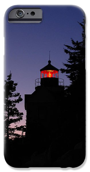 New England Lighthouse iPhone Cases - Maine Lighthouse iPhone Case by Juergen Roth
