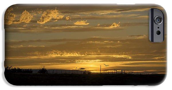 Ledge iPhone Cases - Majestic Colorado Mesa Sunset iPhone Case by Janice Rae Pariza