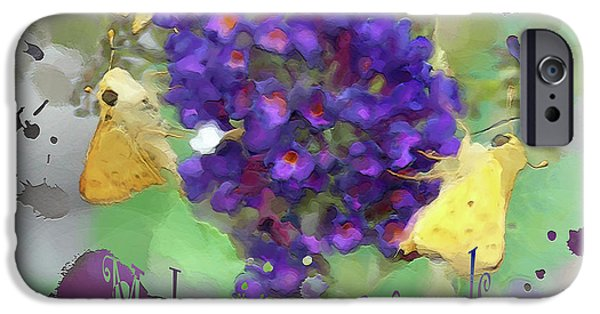Concept Art iPhone Cases - Make New Friends iPhone Case by Anita Faye