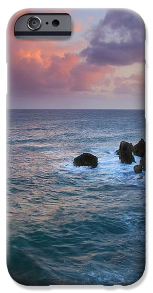 Makewehi Sunset iPhone Case by Mike  Dawson