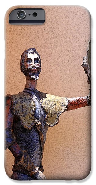 Don Quixote iPhone Cases - Man Of La Mancha iPhone Case by Viktor Savchenko