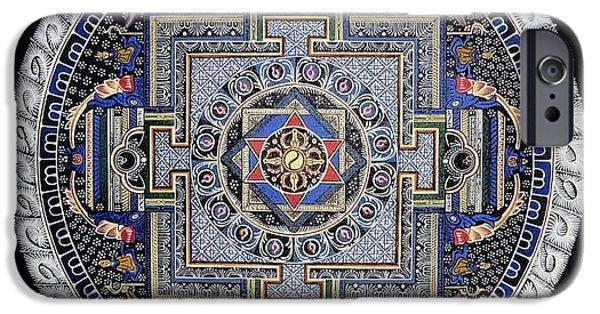 Mandal iPhone Cases - Mandala iPhone Case by Ashwin Yoganandi