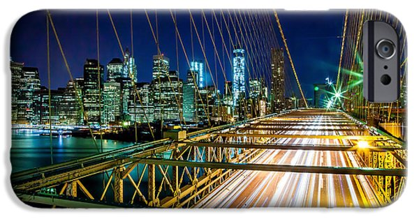 Financial District iPhone Cases - Manhattan Bound iPhone Case by Az Jackson