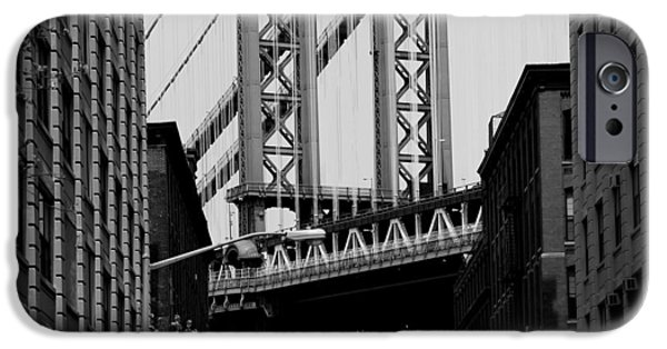 Empire State iPhone Cases - Manhattan Empire iPhone Case by Andrew Fare