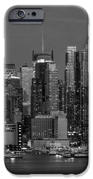 Manhattan Twilight IV iPhone Case by Clarence Holmes