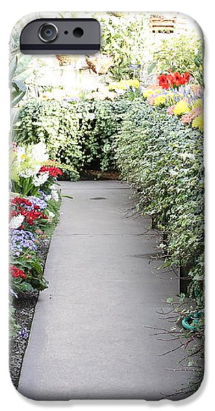 Manito Park Conservatory iPhone Case by Carol Groenen