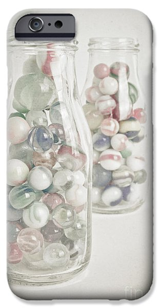 Marble iPhone Cases - Marble Memories iPhone Case by Edward Fielding