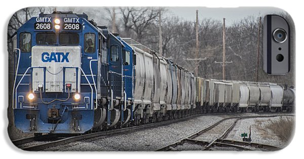 Evansville iPhone Cases - March 18. 2015 - Evansville Western Railway 1 iPhone Case by Jim Pearson