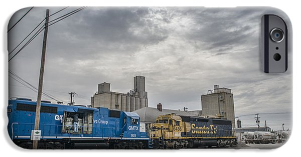 Evansville iPhone Cases - March 18. 2015 - Evansville Western Railway iPhone Case by Jim Pearson