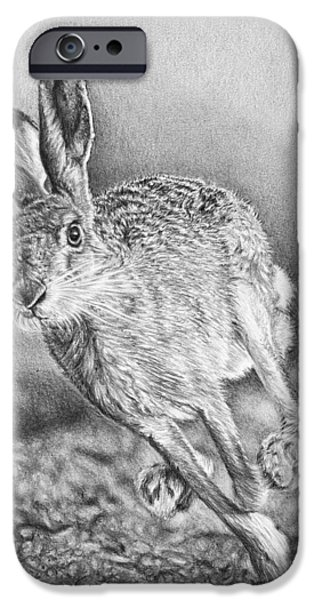 March Hare iPhone Cases - Need for Speed iPhone Case by Frances Vincent