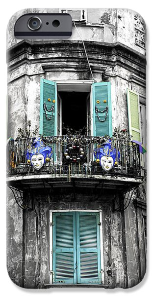 Foto iPhone Cases - Mardi Gras Fusion iPhone Case by John Rizzuto