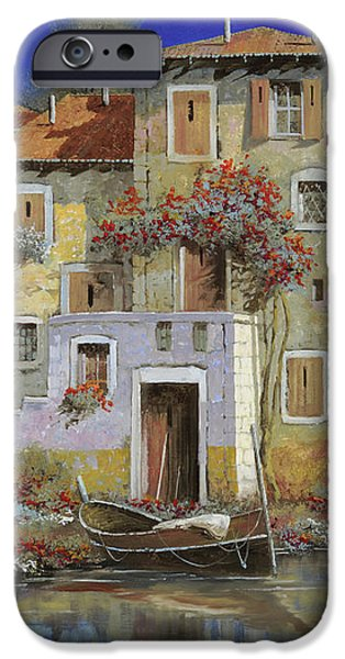 mareblu' iPhone Case by Guido Borelli