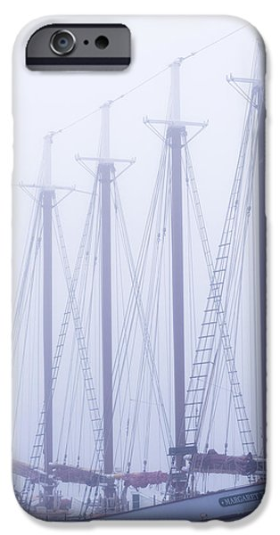 Sailboat Photographs iPhone Cases - Margaret Todd iPhone Case by Chad Dutson