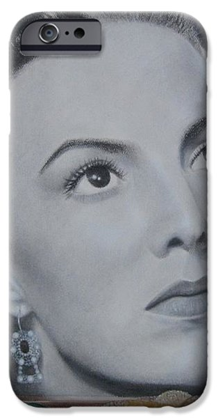Maria Bonita iPhone Case by Lynet McDonald