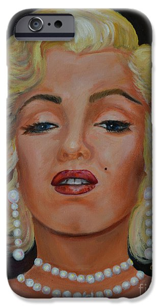 Mr. President iPhone Cases - Marilyn Monroe 2  iPhone Case by To-Tam Gerwe