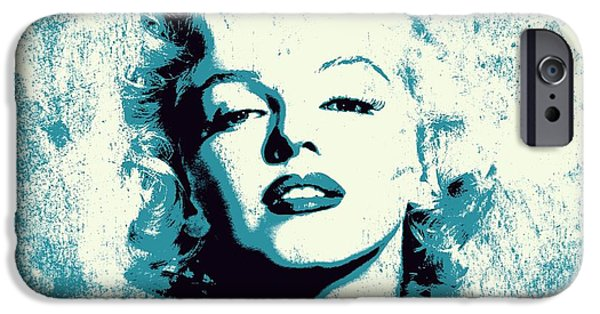 Recently Sold -  - Lips iPhone Cases - Marilyn Monroe - 201 iPhone Case by Variance Collections