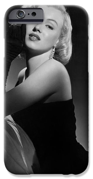 Bare Shoulder iPhone Cases - Marilyn Monroe iPhone Case by American School