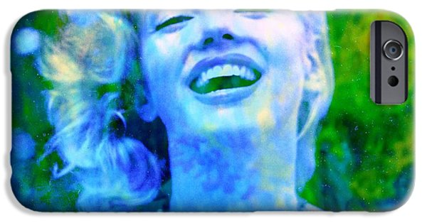 Nature Abstract iPhone Cases - Marilyn iPhone Case by Richard Ray