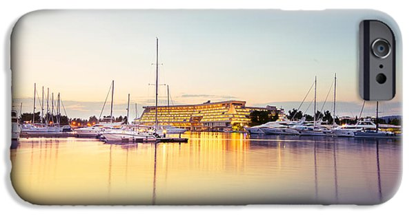 Boat iPhone Cases - Marina iPhone Case by Ivan Vukelic
