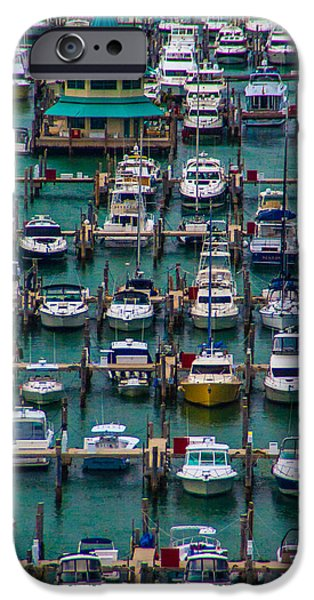 Bay Bridge iPhone Cases - Miami Marina Maze iPhone Case by Patti Deters