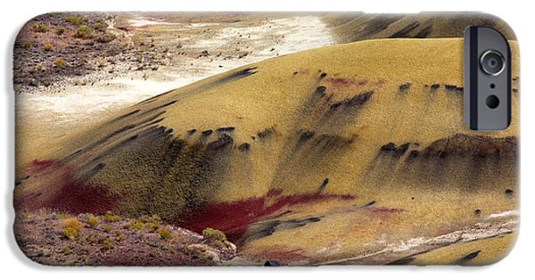 Strange iPhone Cases - Marked Hills iPhone Case by Mike  Dawson