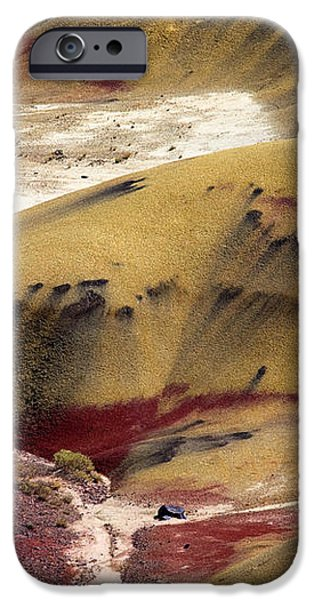 Marked Hills iPhone Case by Mike  Dawson