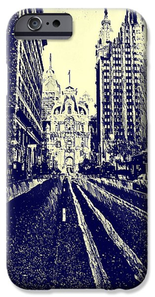 Market Street  iPhone Case by Bill Cannon