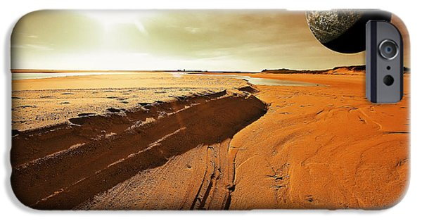 Day iPhone Cases - Mars iPhone Case by Dapixara Art