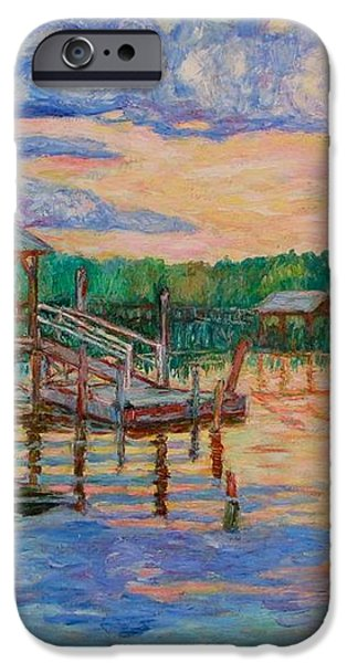 Marsh View at Pawleys Island iPhone Case by Kendall Kessler