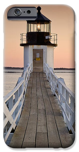 Marshal Point Glow iPhone Case by Susan Cole Kelly