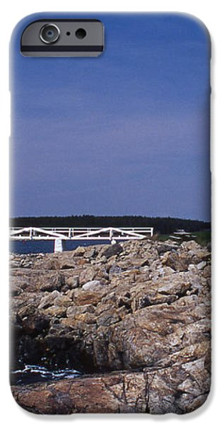 MARSHALL POINT LIGHT iPhone Case by Skip Willits