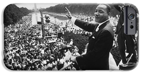 Civil Rights iPhone Cases - Martin Luther King iPhone Case by American School