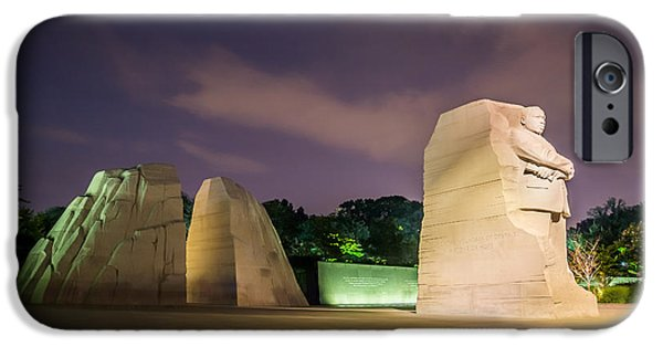 D.c. iPhone Cases - Martin Luther King Jr. Memorial iPhone Case by Chris Bordeleau