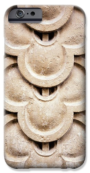 Stone Carving iPhone Cases - Masonry detail iPhone Case by Jane Rix