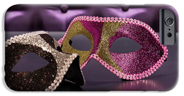 Furniture iPhone Cases - Masquerade  iPhone Case by Ulrich Schade
