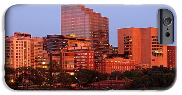 Boston Ma iPhone Cases - Massachusetts General Hospital iPhone Case by Juergen Roth
