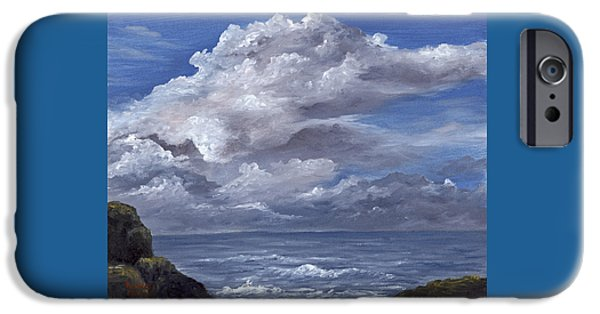 Storm iPhone Cases - Maui Clouds iPhone Case by Darice Machel McGuire