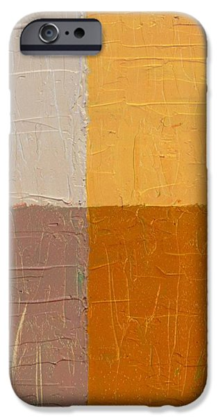 Mauve and Peach iPhone Case by Michelle Calkins