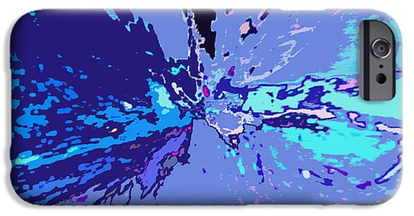 Contemporary Abstract iPhone Cases - Maximal Matter iPhone Case by Charles Yates