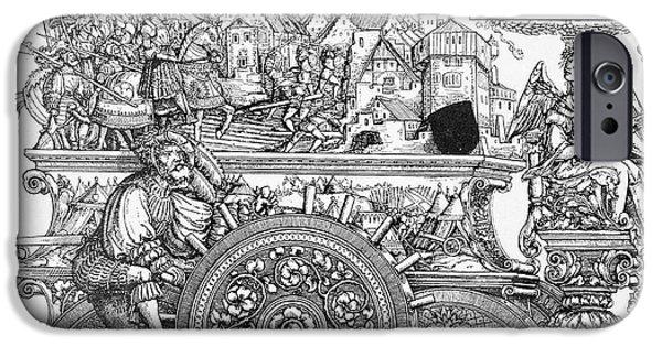Roman Emperor iPhone Cases - Maximilian I 1459-1519 iPhone Case by Granger