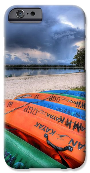 Kayak iPhone Cases - Maybe Tomorrow  iPhone Case by JC Findley