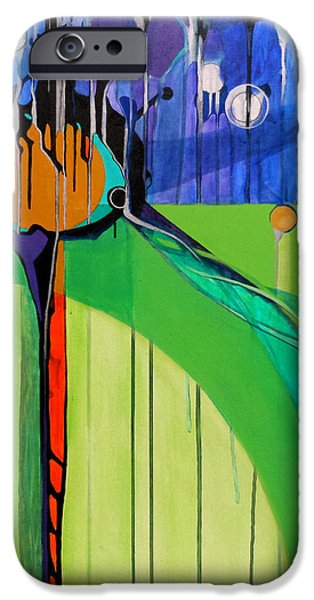 MAZAL TOV  iPhone Case by Marlene Burns