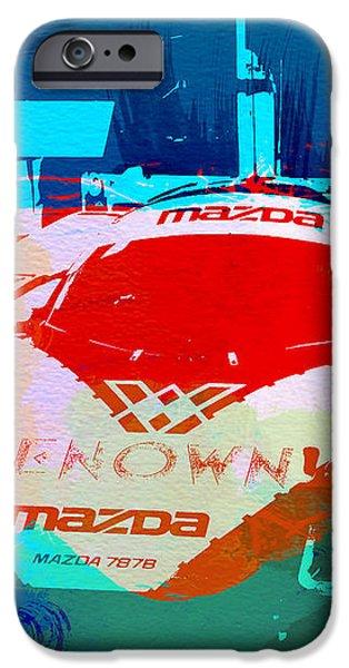 Mazda Le Mans iPhone Case by Naxart Studio