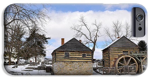Grist Mill iPhone Cases - McCormick Farm 1 iPhone Case by Todd Hostetter